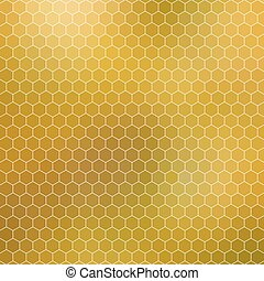honeycomb - abstract geometric hexagon grid