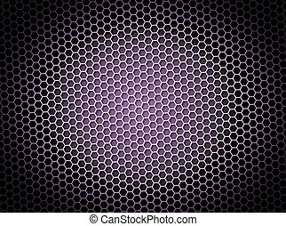 Honeycomb Background Purple