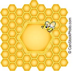 Honeycomb design Element