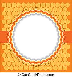 Honeycomb frame.
