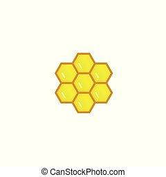 Honeycomb icon logo