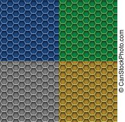 Honeycomb patterns