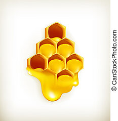 Honeycomb, vector