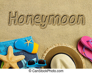 Honeymoon on the beach