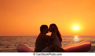 honeymoon on the beach
