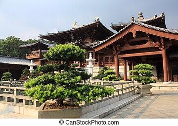 hong, boeddhistische tempel, kong