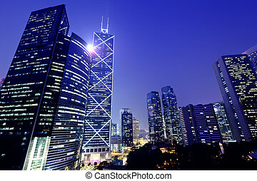 hong, commercial, district, kong