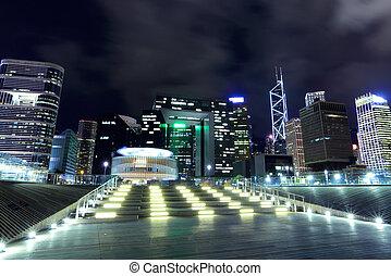 hong, district central, kong