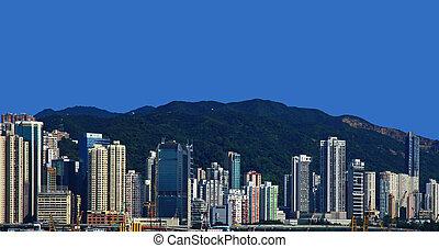 hong, district central, kong.