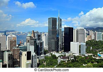hong, district financier, kong