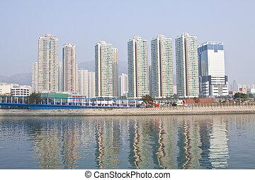 secteur pont hong asie kong en ville vo te photographie de stock rechercher des images. Black Bedroom Furniture Sets. Home Design Ideas