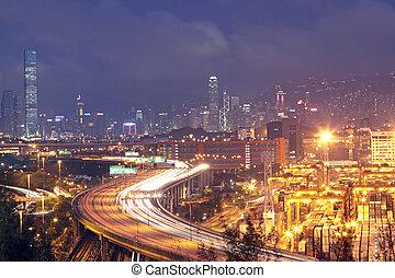 Hong Kong Bridge of transportation