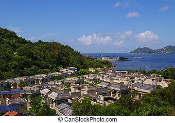 hong kong, cheung, zee, chau, heuveltop, aanzicht