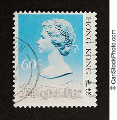 HONG KONG - CIRCA 1980: Stamp printed in Hong Kong