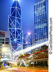 Hong Kong city traffic
