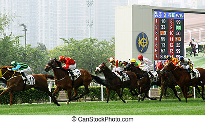 Cathay Pacific Hong Kong International Races - HONG KONG -...