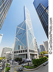 Bank of China - HONG KONG - FEBRUARY 22: Bank of China tower...