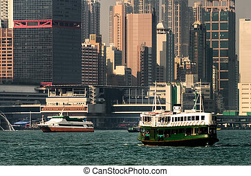 Hong Kong ferry