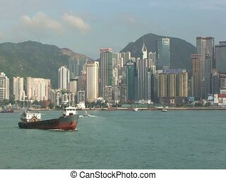 Hong Kong Harbor During Day
