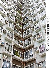 Hong Kong housing estate