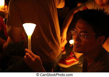 Tiananmen massacre - HONG KONG - JUN 4, It is the...