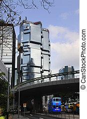 Lippo Centre - HONG KONG - MARCH 29: Lippo Centre. The ...