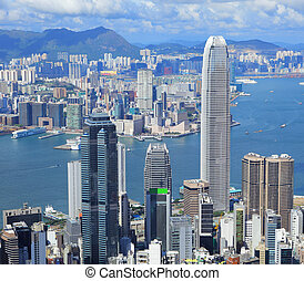 hong kong, metropolis