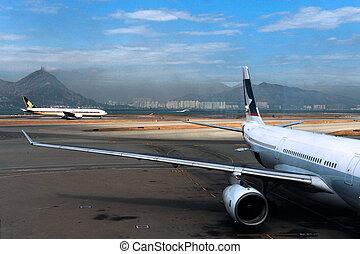 hong kong, nemzetközi repülőtér