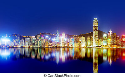 Hong Kong night