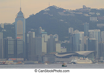 Hong Kong of Victoria Harbour