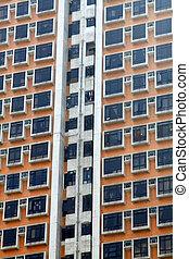 Hong Kong packed housing