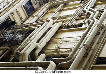 Hong Kong Plumbing - The chatotic and excessive plumbing of ...