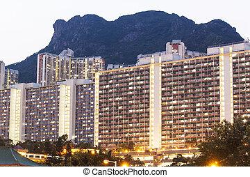 hong kong, public, logement
