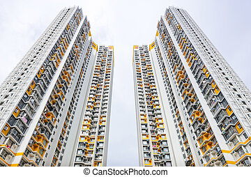 Hong Kong residential buildings