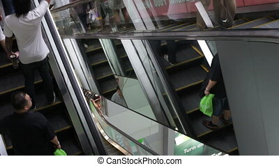 HONG KONG. Times Square is a major shopping center