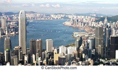 Hong Kong victoria harbour - Hong KOng Victoria harbour view...