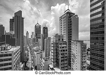 Hong Kong's dilapidated tall buildings - Dilapidated and...