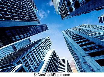 hong, rascacielos, kong's