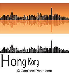 hong, skyline, kong