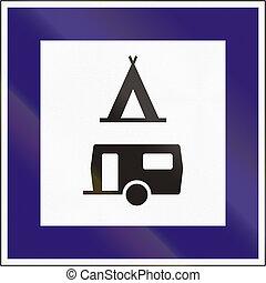 hongaars, straat, teken., diagrammen, van, aanwijzing,...