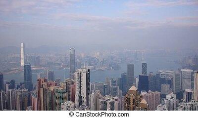 Hongkong #3 - Day panoramic time-lapse