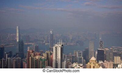 Hongkong #4 - Panoramic time-lapse