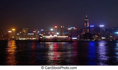 Hongkong #6 - Night panoramic time-lapse
