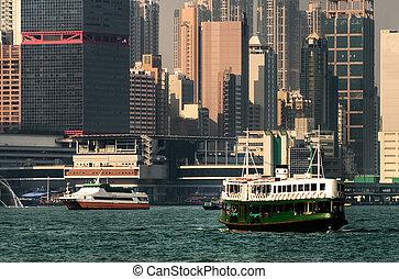 hongkong, färja