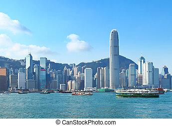 hongkong, hafen, victoria