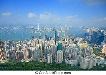 hongkong - hong kong modern city in asia