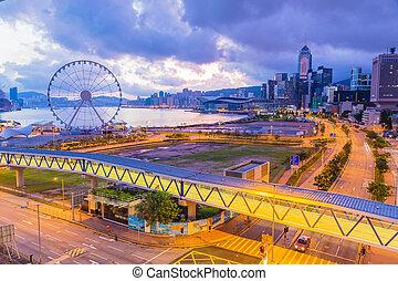 hongkong, morgen