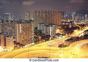 hongkong, nacht