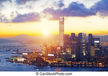 hongkong, ocaso