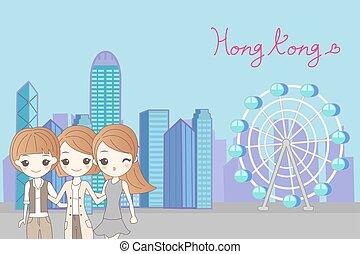 hongkong, viagem, mulheres
